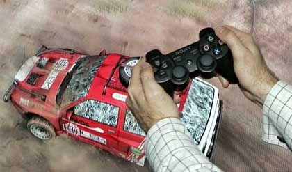 """Playstation 3, Spiel """"Motor Storm"""":"""