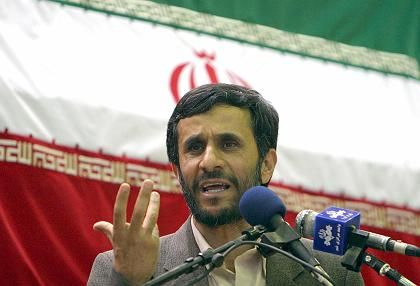 Hardliner Ahmadinejad was not expected to do well in the vote.