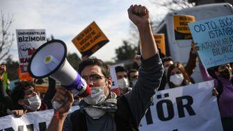 Studierende gegen Erdoğan