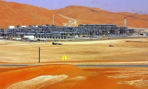 Saudi Arabia's Shaybah oil field mega-project contains some 15 billion barrels of proven oil reserves.