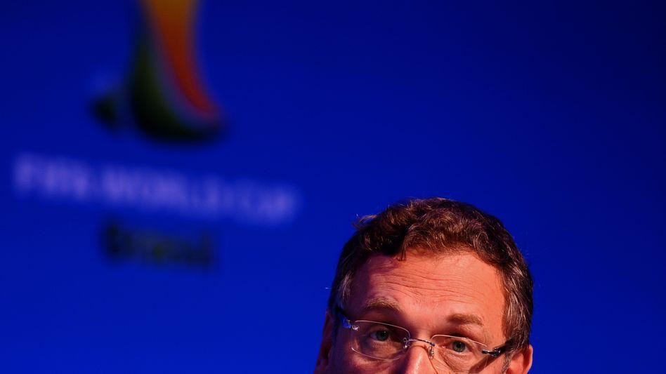 """Fifa-Generalsekretär Valcke (Archiv): """"Es ist formal nichts abgestimmt"""""""