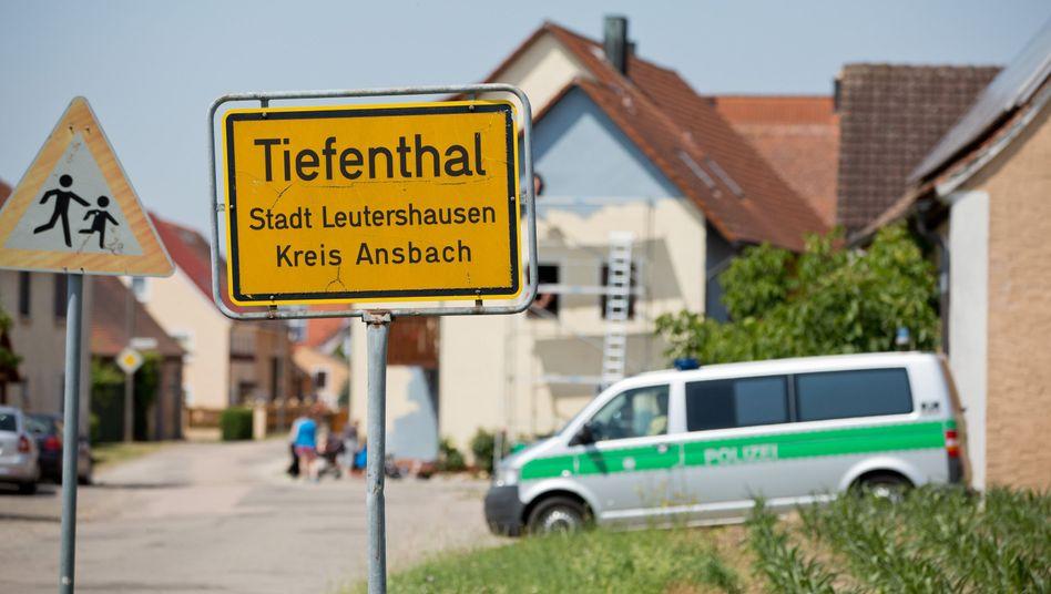 Tatort nahe Ansbach: Pfleger mit Psychose und Waffenschein