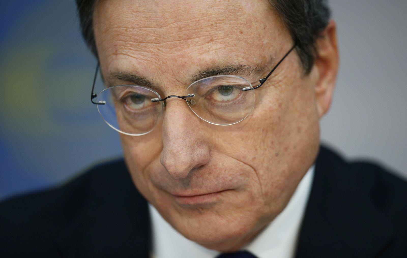 Mario Draghi, EZB