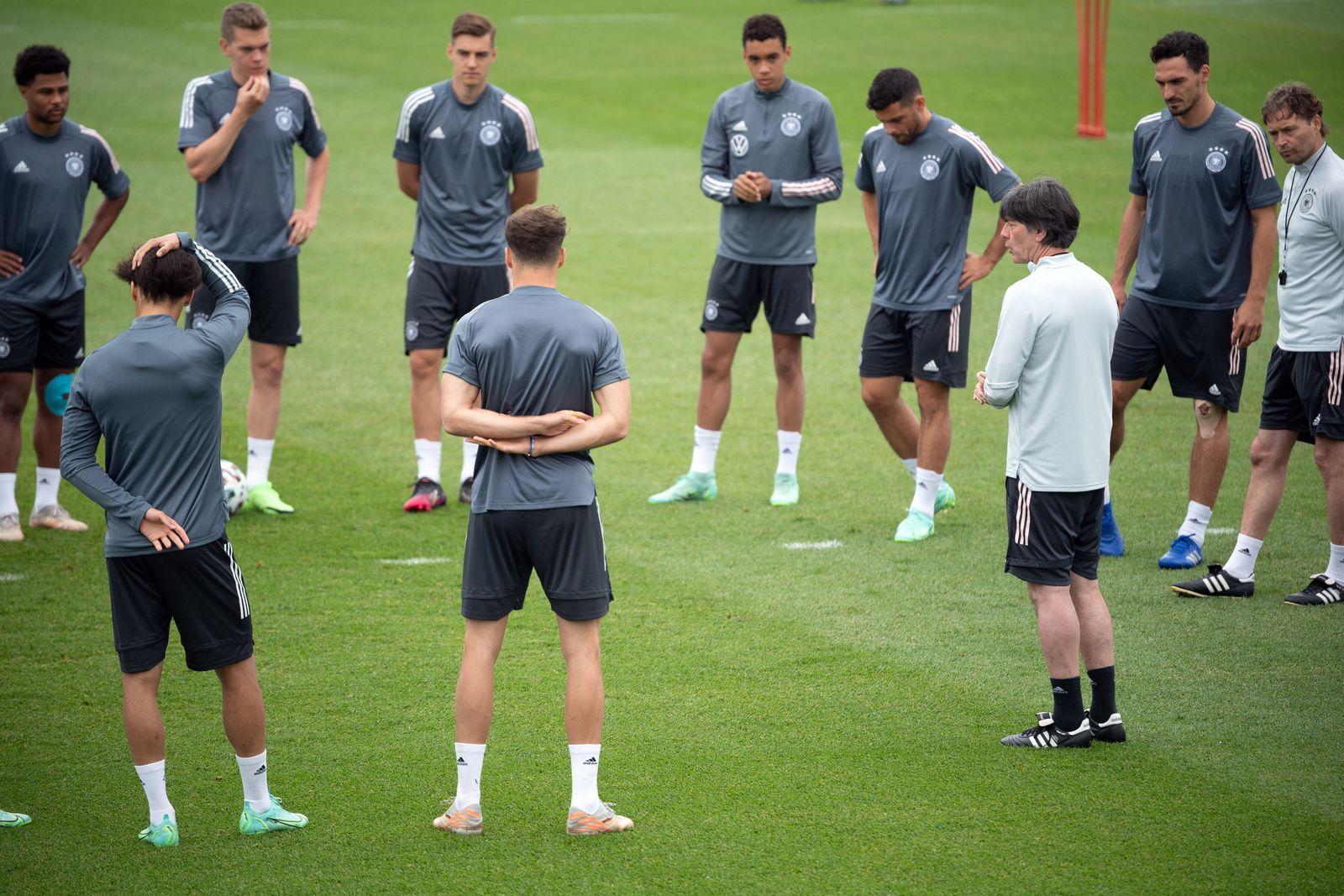 Fußball-EM - Training Deutschland