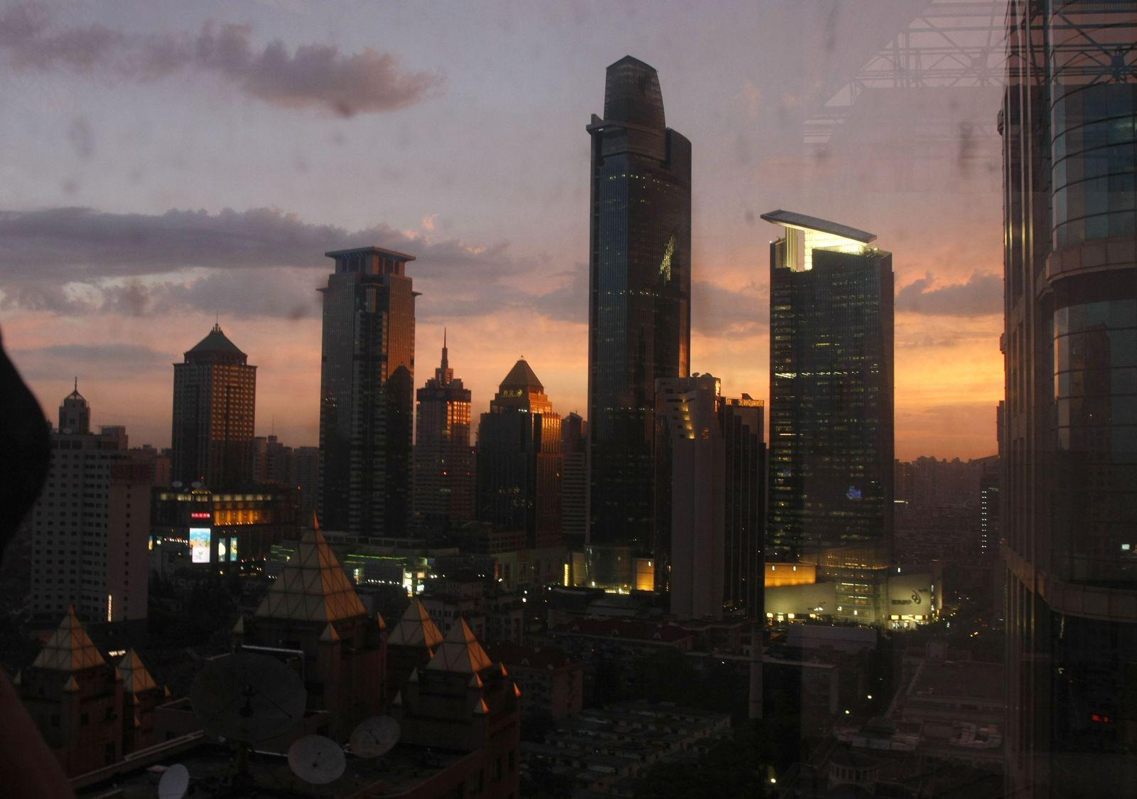Storms Ends Plum Rain Season In Shanghai