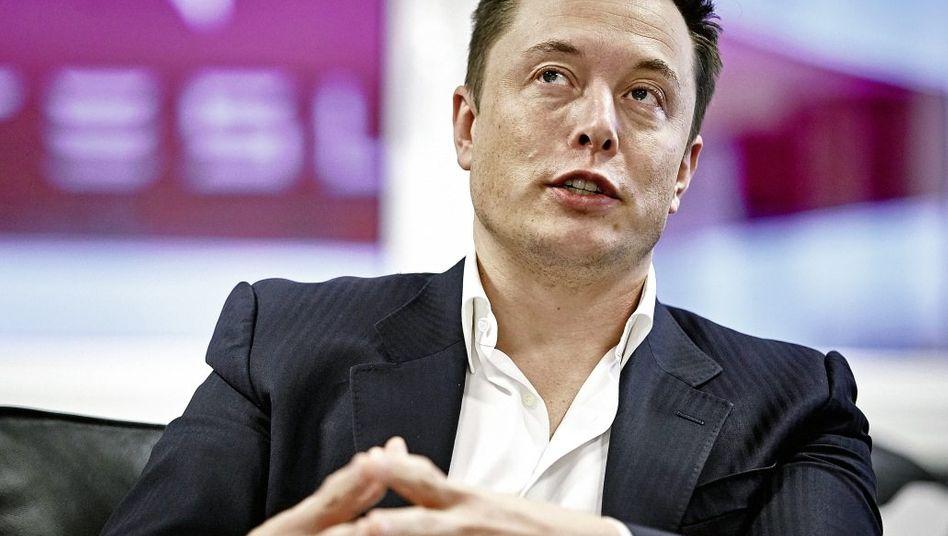 Unternehmer Musk »Es wird unheimlich viel Schwachsinn erzählt«
