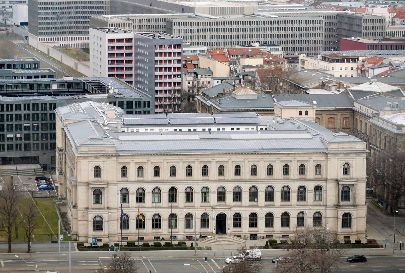 Berlin - Deutschland. Bundesministerium f¸r Verkehr und digitale Infrastruktur. *** Berlin Germany Federal Ministry of T