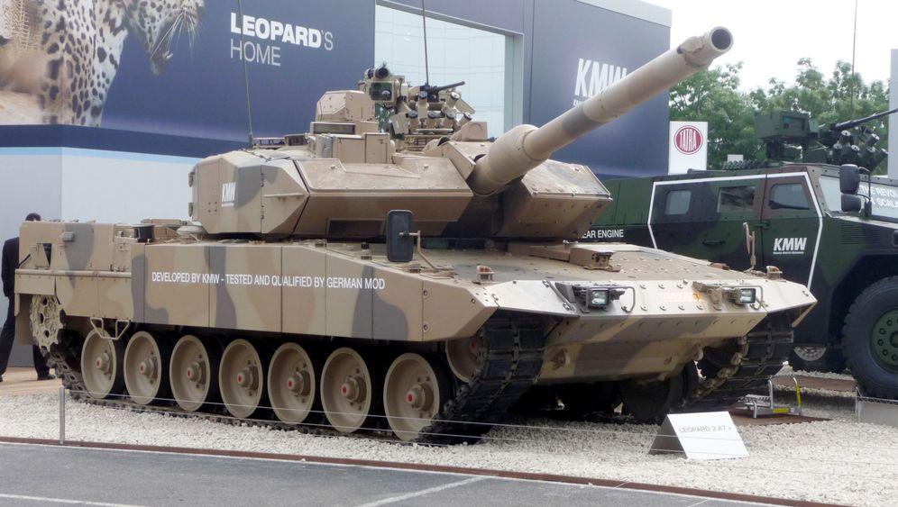 """Kampfpanzer """"Leopard"""": Deutschlands gefährlichster Exportschlager"""