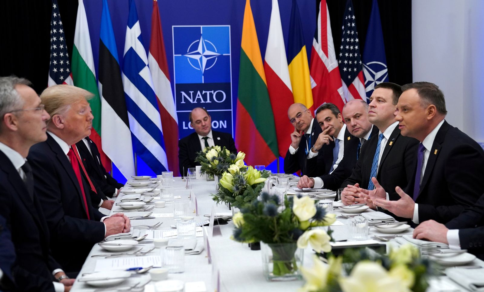 FILE PHOTO: NATO Alliance summit in Watford
