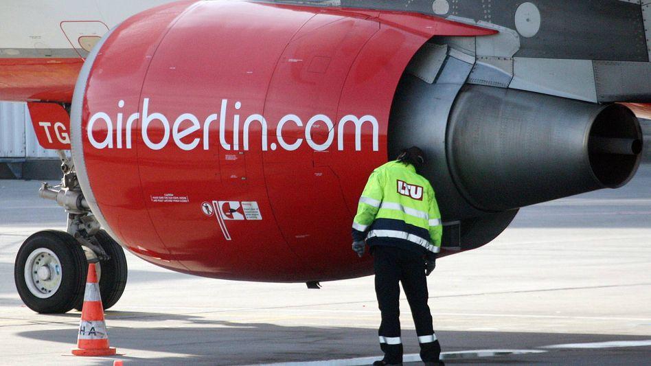 Air Berlin: In den nächsten Tagen wollen die Piloten für drei Stunden streiken