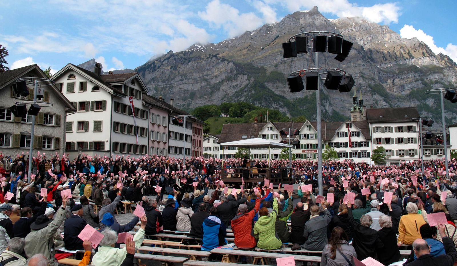 Switzerland Open Air Democracy