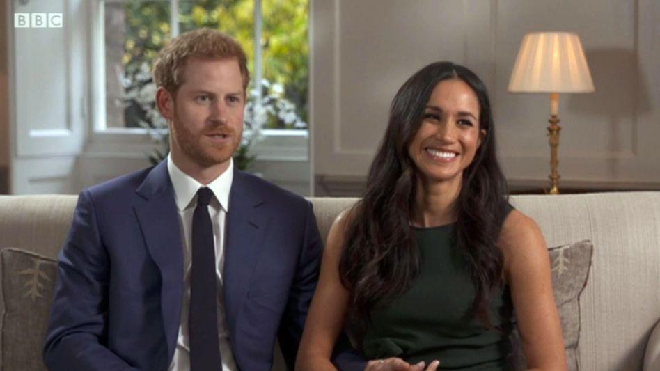 Erstes gemeinsamesTV-Interview: Prinz Harry und Meghan Marklewurden verkuppelt