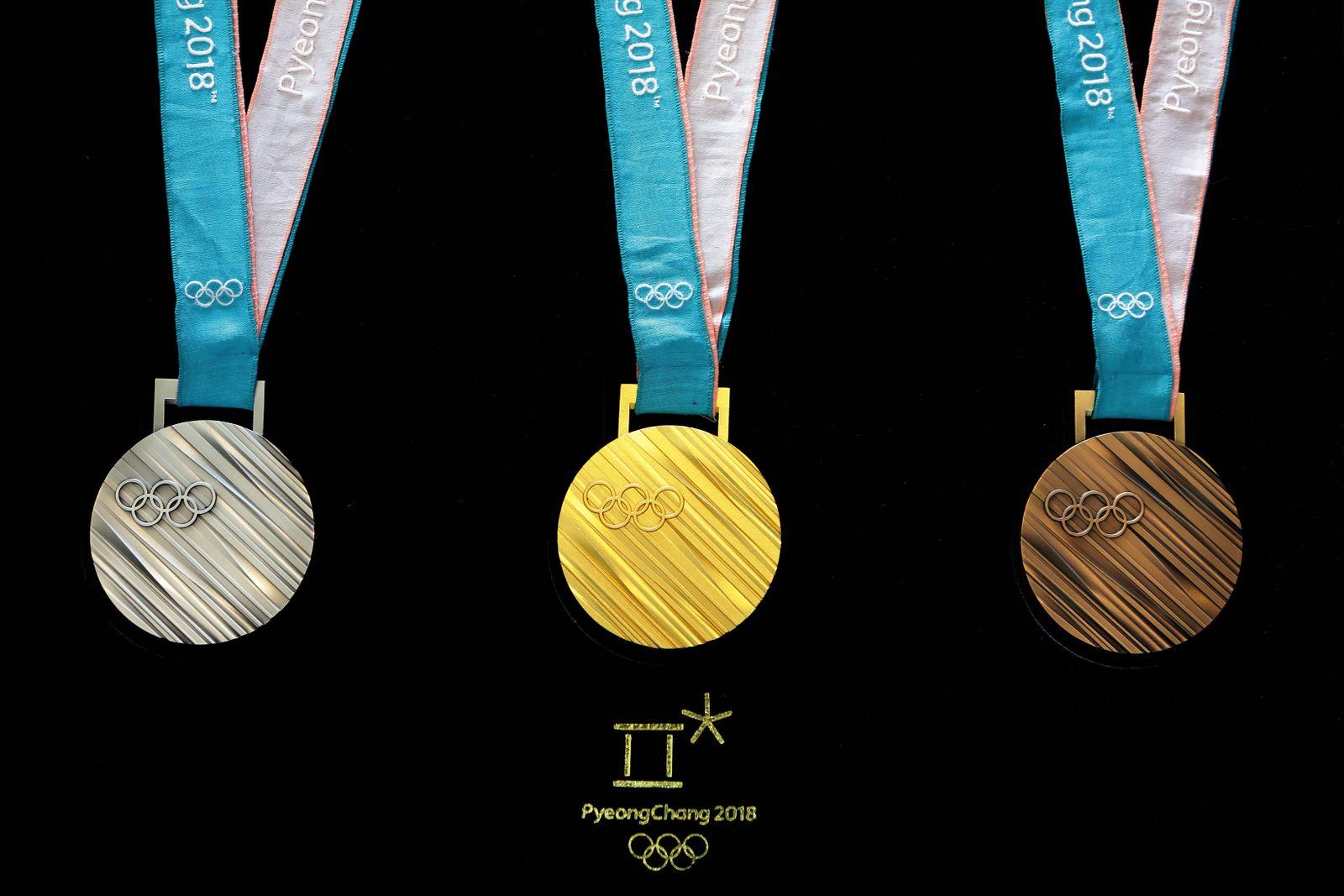 Olympia-Medaillen / Symbol