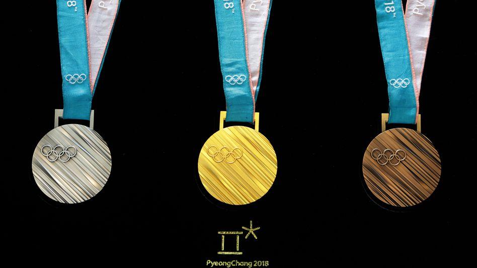 Medaille der Olympischen Spiele in Seoul 2017 (Archiv)