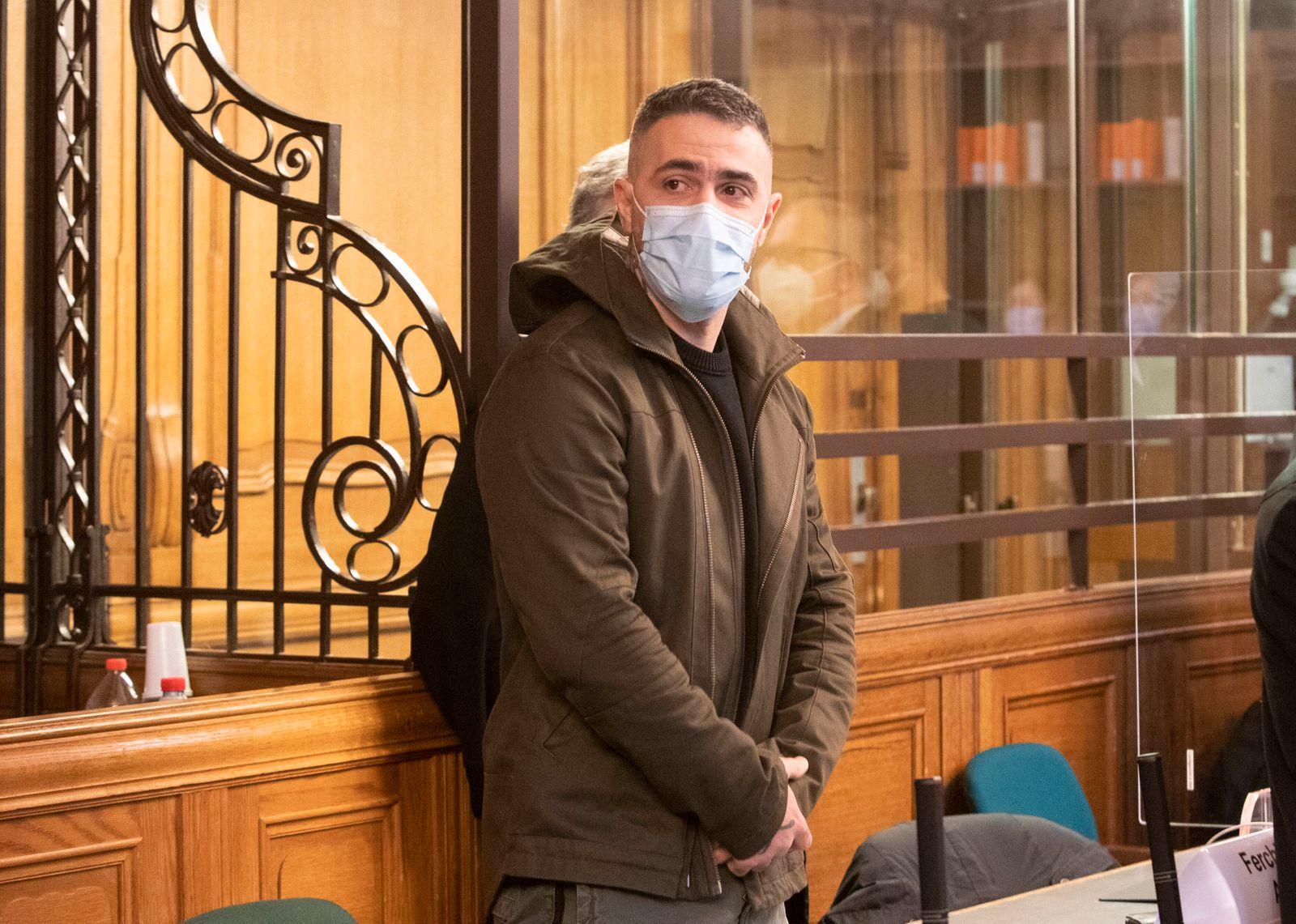 Bild-Motiv: Bushido Berlin den 25.01.2021 09.30 Strafkammer 38, Saal 500 Delikt: versuchte schwere raeuberische Erpressu