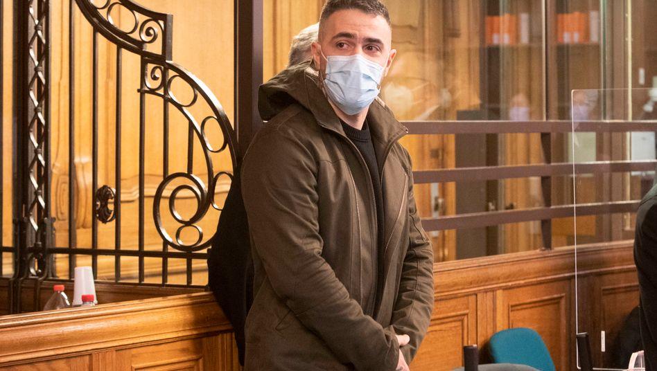 Der ewige Zeuge: Bushido bei einem Prozesstag Ende Januar