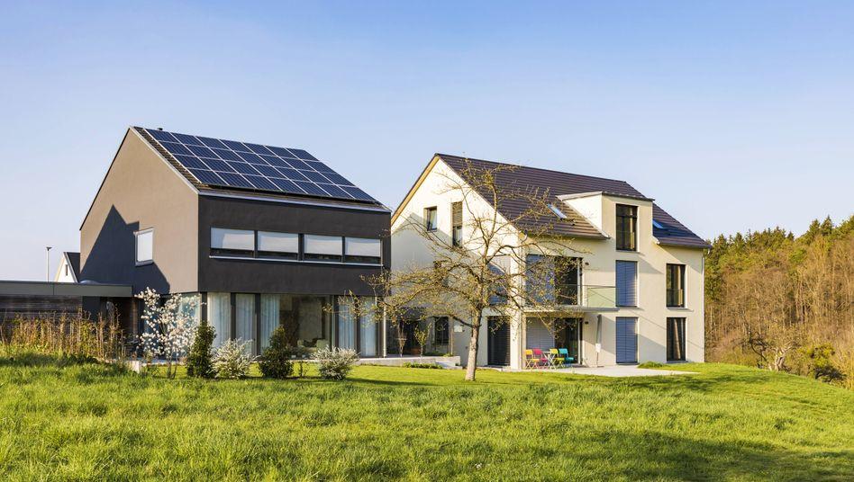 Einfamilienhäuser: Anschlussfinanzierung günstig