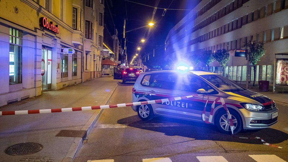 Tatort im Salzburger Stadtteil Lehen