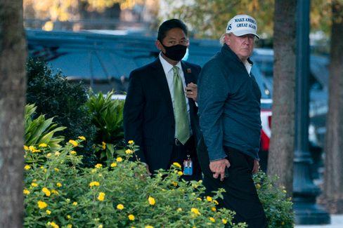 Letzte Station Golfkurs: Trump nach seiner Wahlniederlage am Wochenende