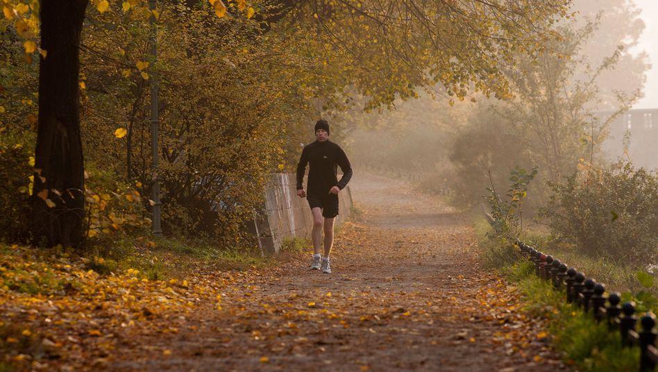 """Läufer im Winter: """"Es muss nicht gleich ein Wettbewerb sein"""""""