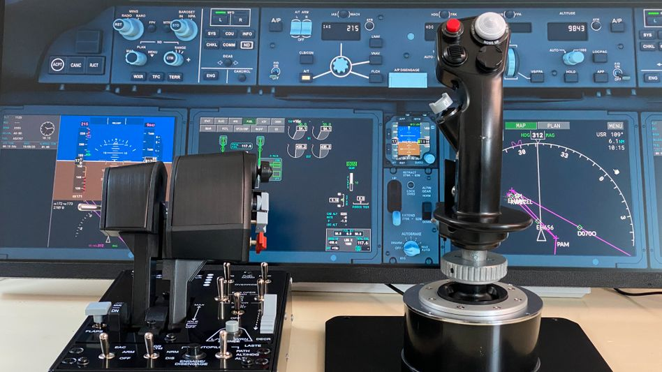 Cockpit für Hobbypiloten