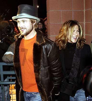 Ehepaar Aniston/Pitt: Shopping in New York