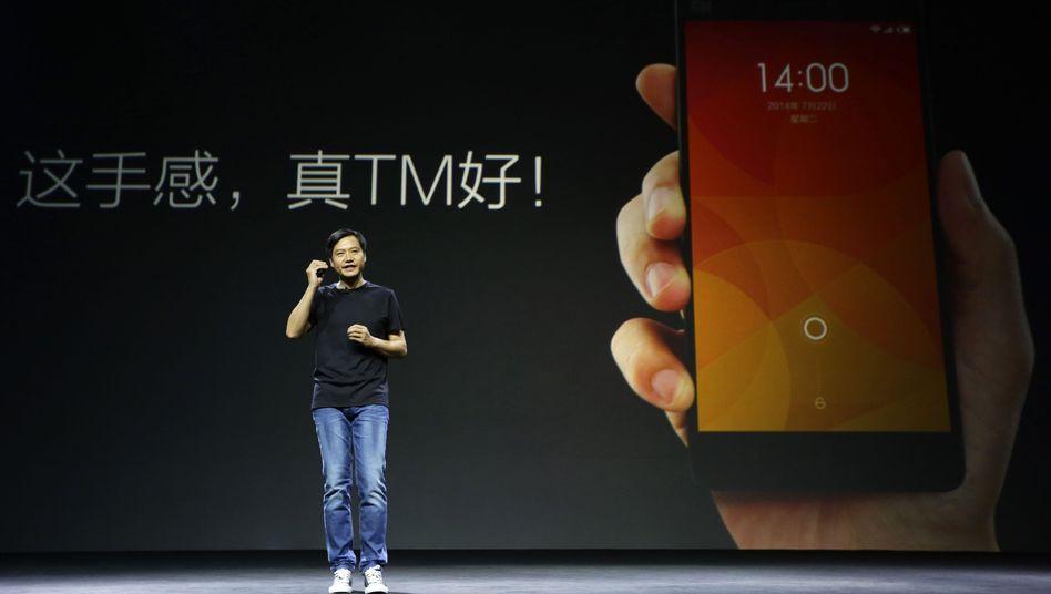 Xiaomi-Gründer Lei Jun: Erfolge für lokale Smartphone-Anbieter in Asien