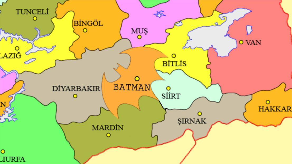 EINMALIGE VERWENDUNG Batman Karte