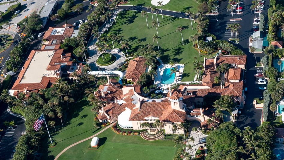 Trumps Club Mar-a-Lago in Palm Bach, Florida