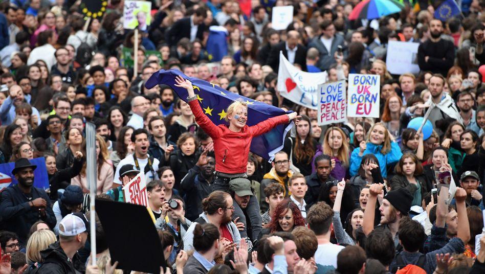 Demo gegen den Brexit (in London)