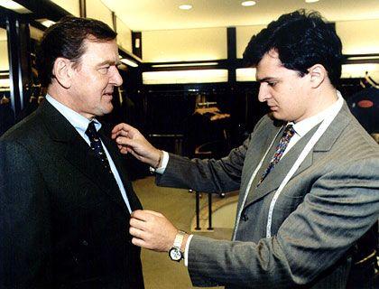 Brioni-Freund: Gerhard Schröder