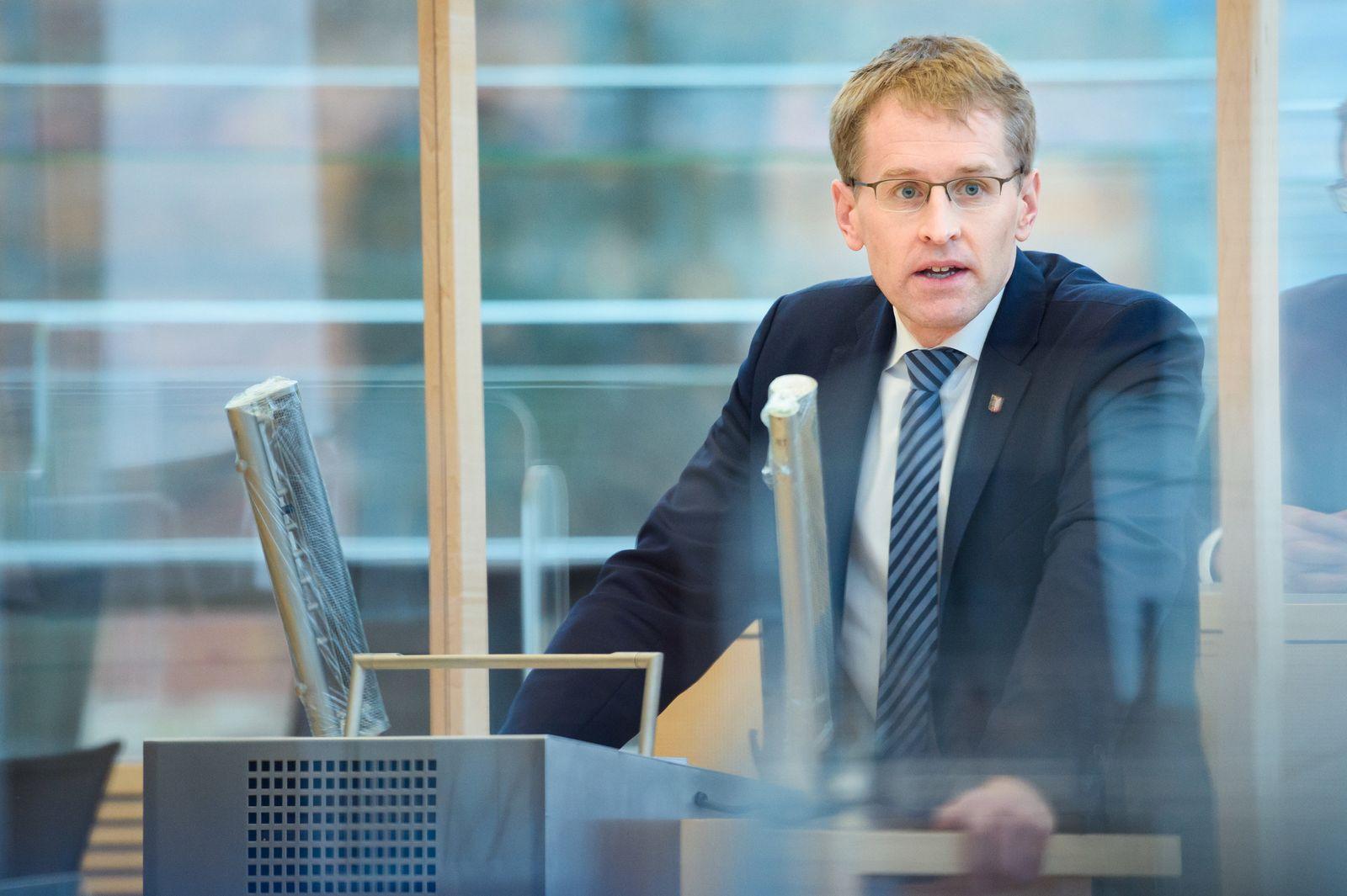 Landtagssitzung Schleswig-Holstein