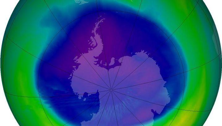 Verletzte Ozonschicht: Heilung hat begonnen