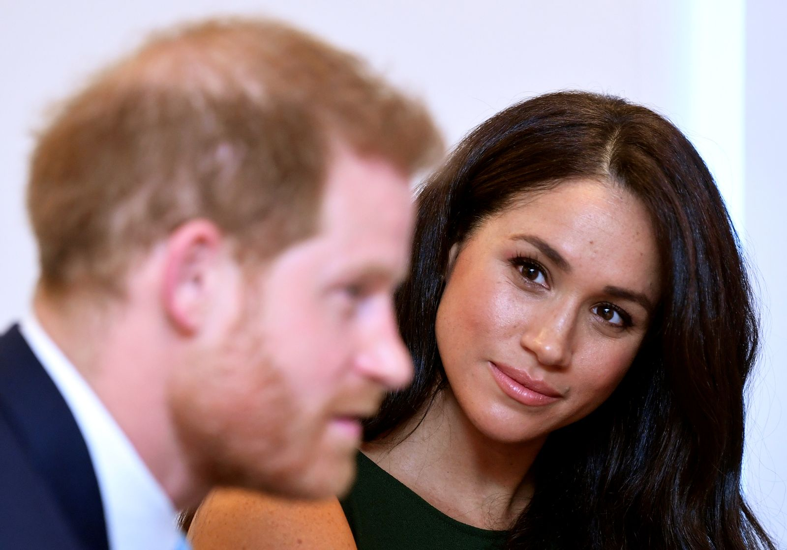 FILE PHOTO: Britain's Prince Harry and Meghan, Duchess of Sussex, attend the WellChild Awards Ceremony in London
