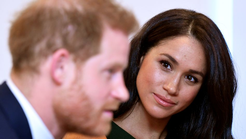 Meghan Markle mit Prinz Harry