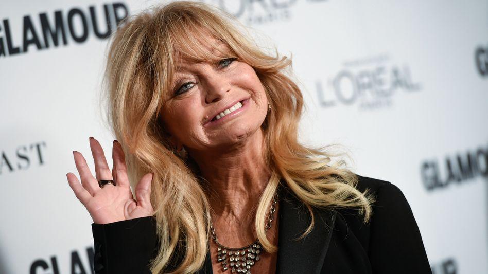 Fröhlich, aber nicht immer glücklich: Goldie Hawn (Archivbild)