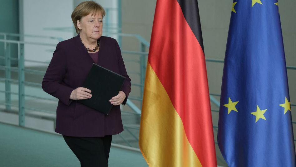 Angela Merkels Reaktion auf Hanau: Kanzlerin mit Kompass