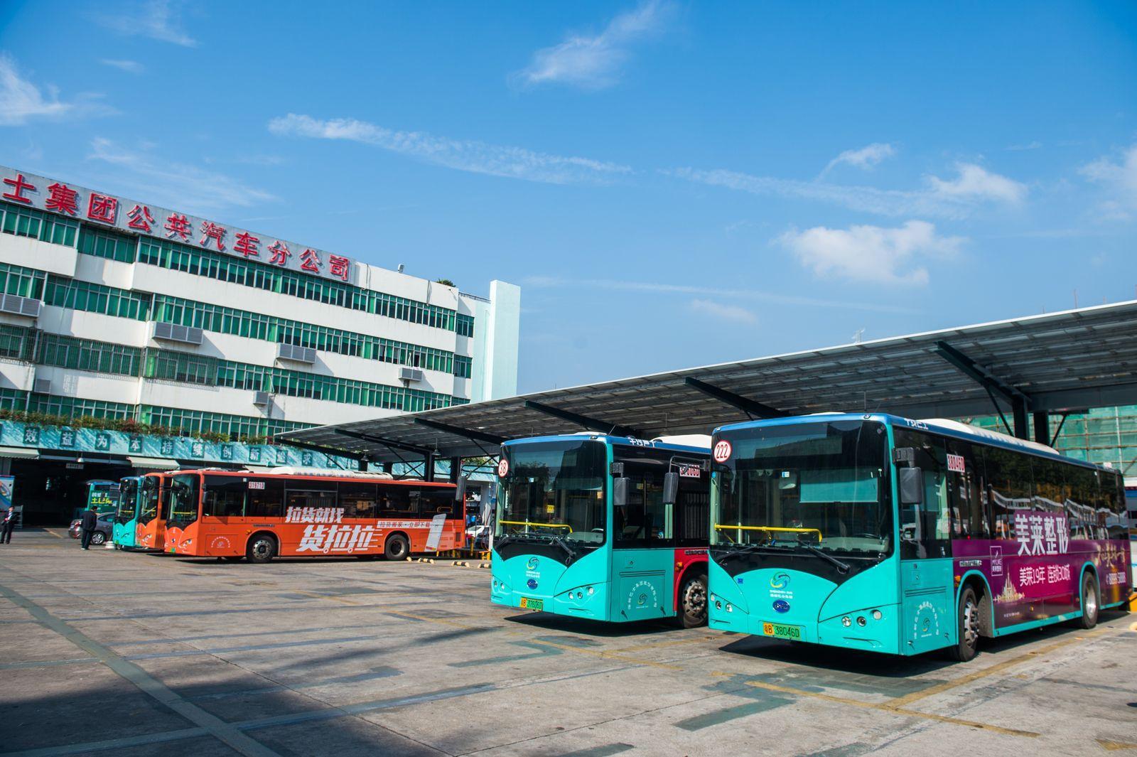 China/ Elektrobusse