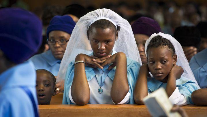 Trauer in Südafrika: Gebete für Mandela