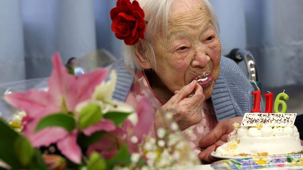 Japan: Älteste Frau der Welt feiert ihren 116. Geburtstag