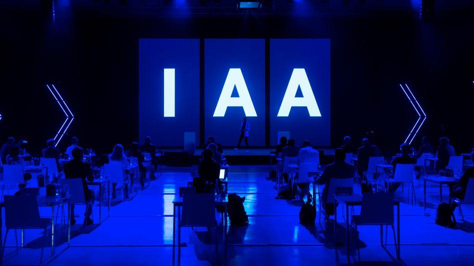 IAA-Konzeptpräsentation: Programm bereits abgespeckt