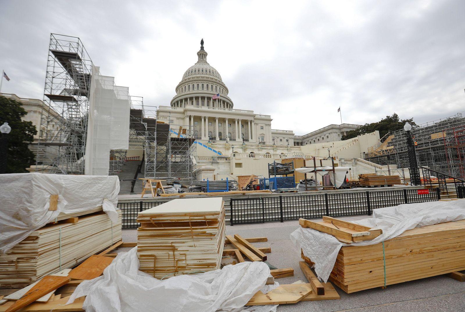 Capitol Inaugural Platform
