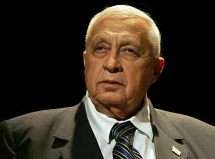 Israels Premier Scharon: Dezenter Verweis auf das Selbstverteidigungspotential