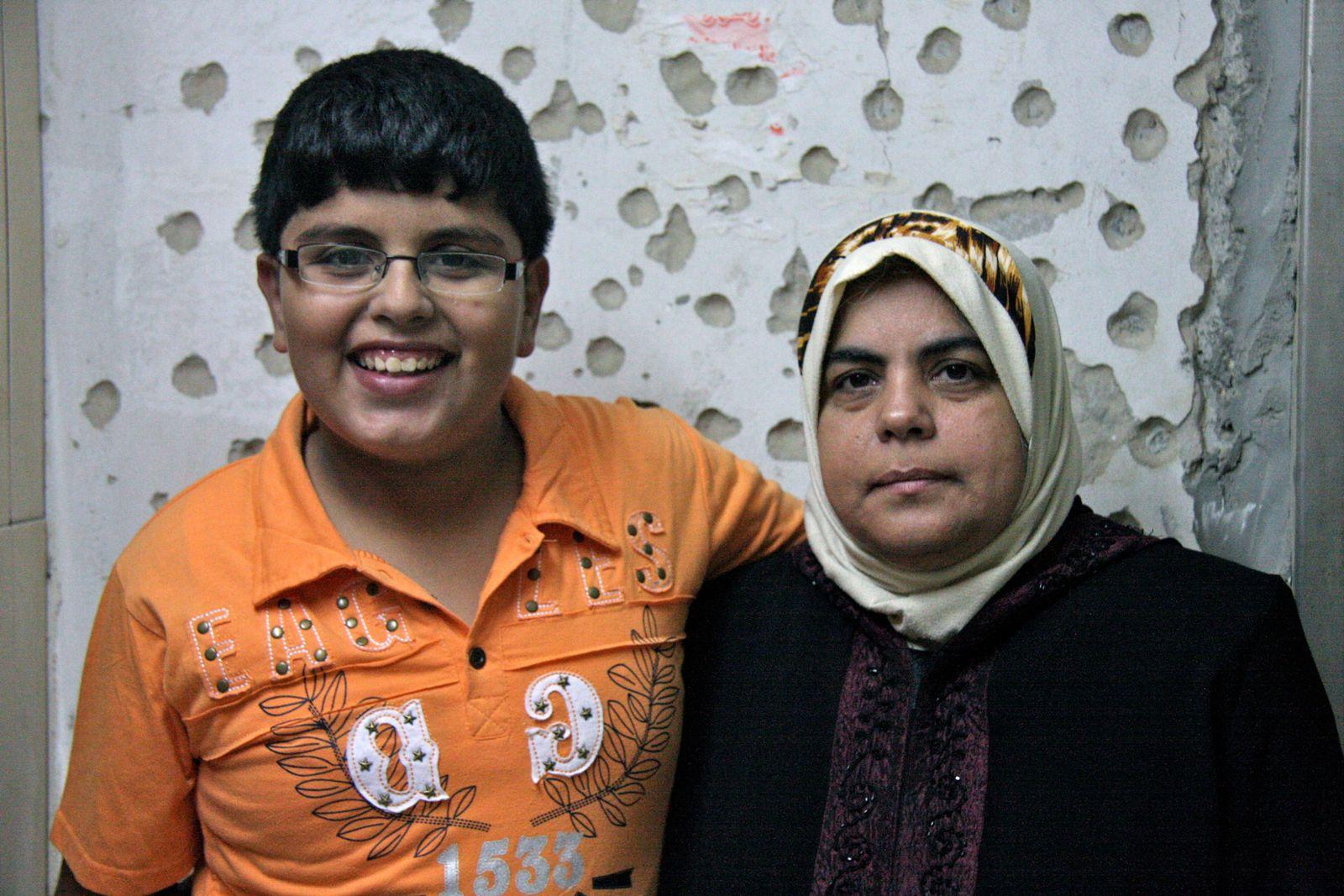 Kriegsverbrechen in Gaza / Mascheed Rabah