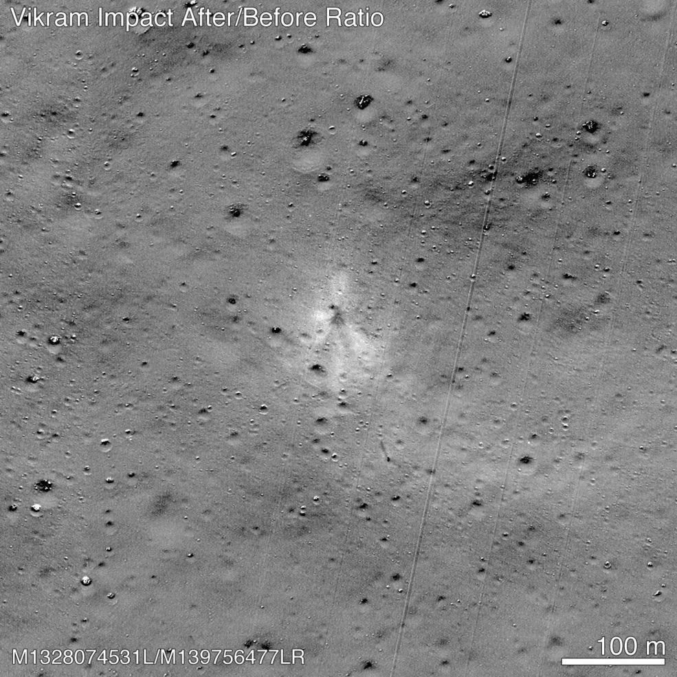 NASA Indische Mondmission