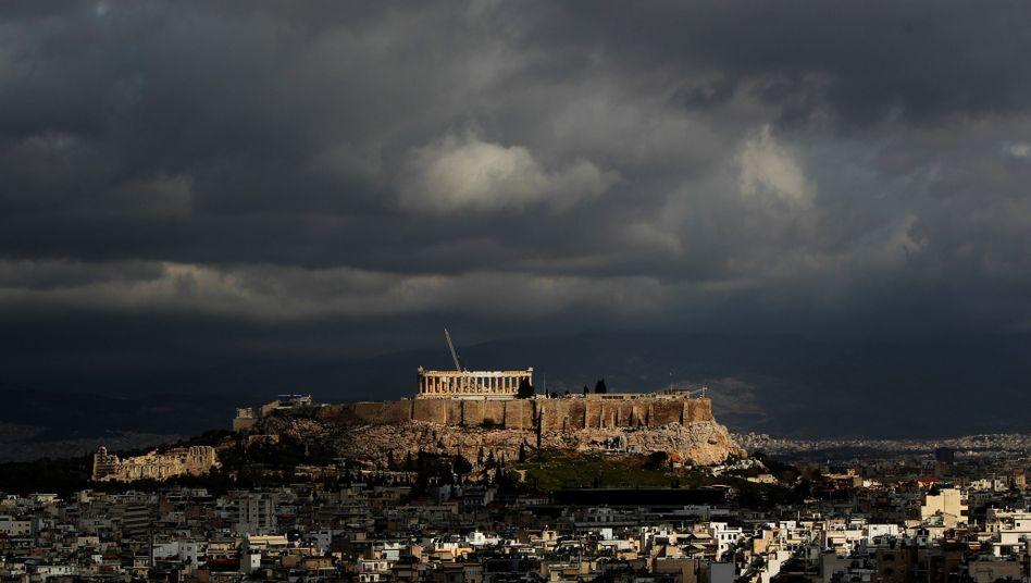 Akropolis in Athen: Regierung feilt weiter am neuen Sparpaket