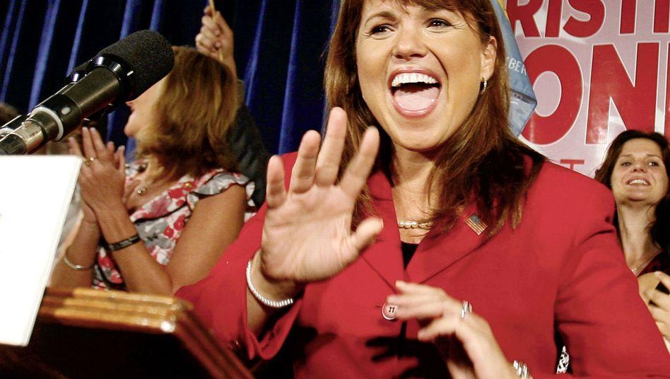 """Tea-Party-Politikerin O'Donnell: """"Die Menschen von Delaware haben gesprochen"""""""