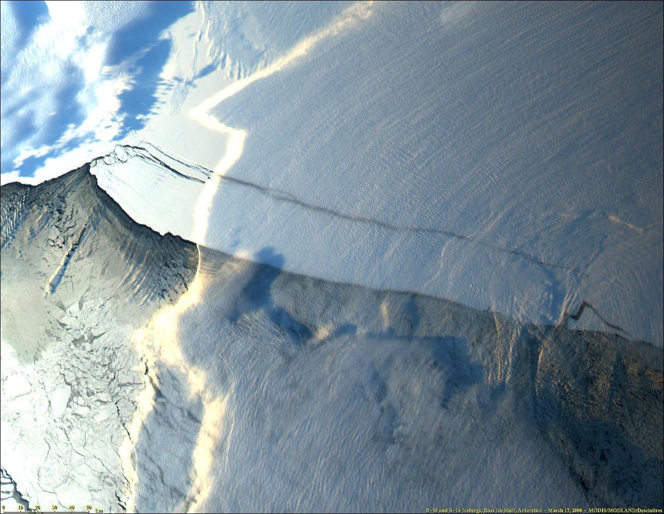 Ross Ice Shelf / Eisberg