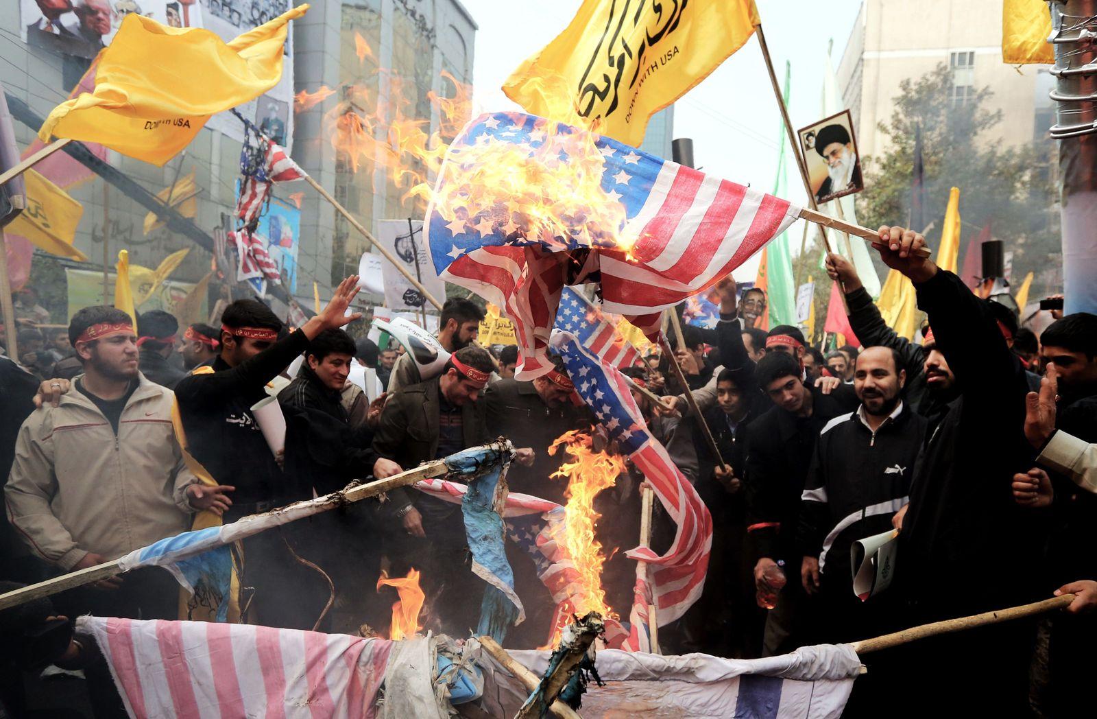 Anti-US-Proteste / Iran