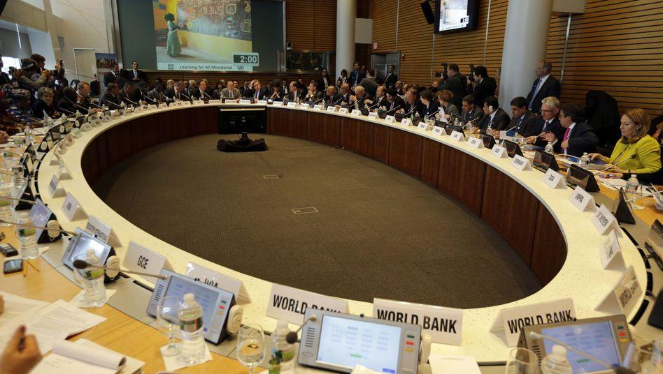 Weltbank-Tagung in Washington: Japans Geldschwemme im Fokus